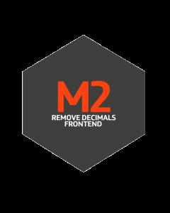 M2 Remove Decimals