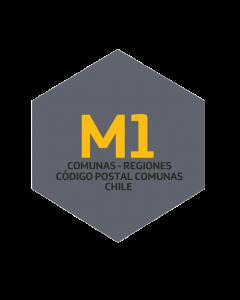 M1 Comunas - Regiones - Código Postal Comunas - Chile